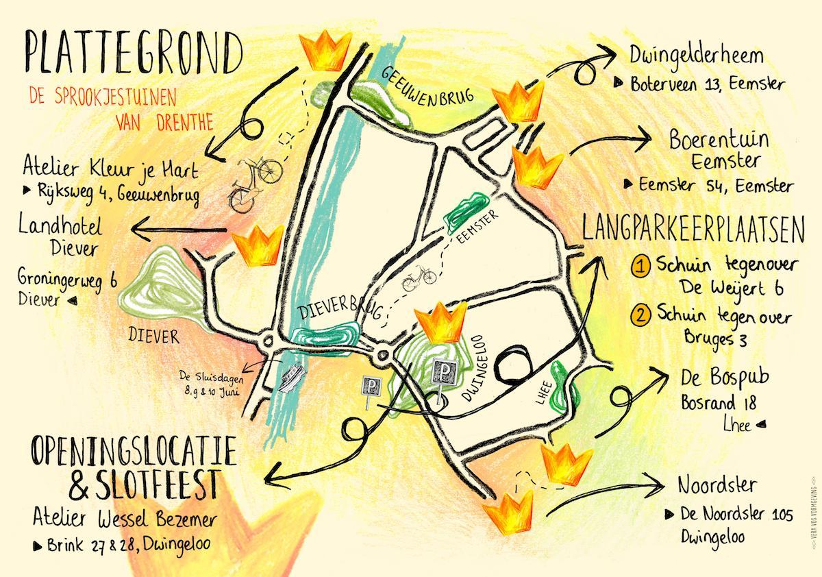 Kindertheaterfestival de Sprookjestuinen van Drenthe