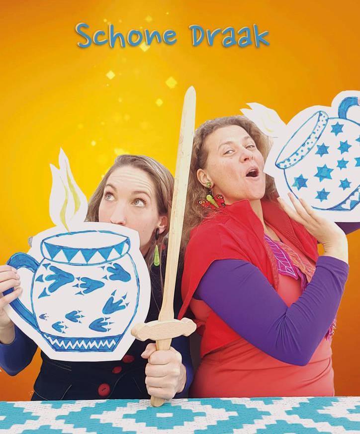 Voorstelling De Schone Draak door Theater Pannenkoek